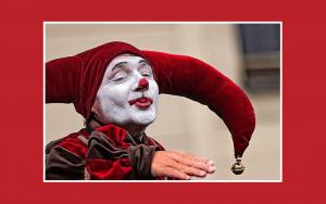 Photo - jester image found on Flikr