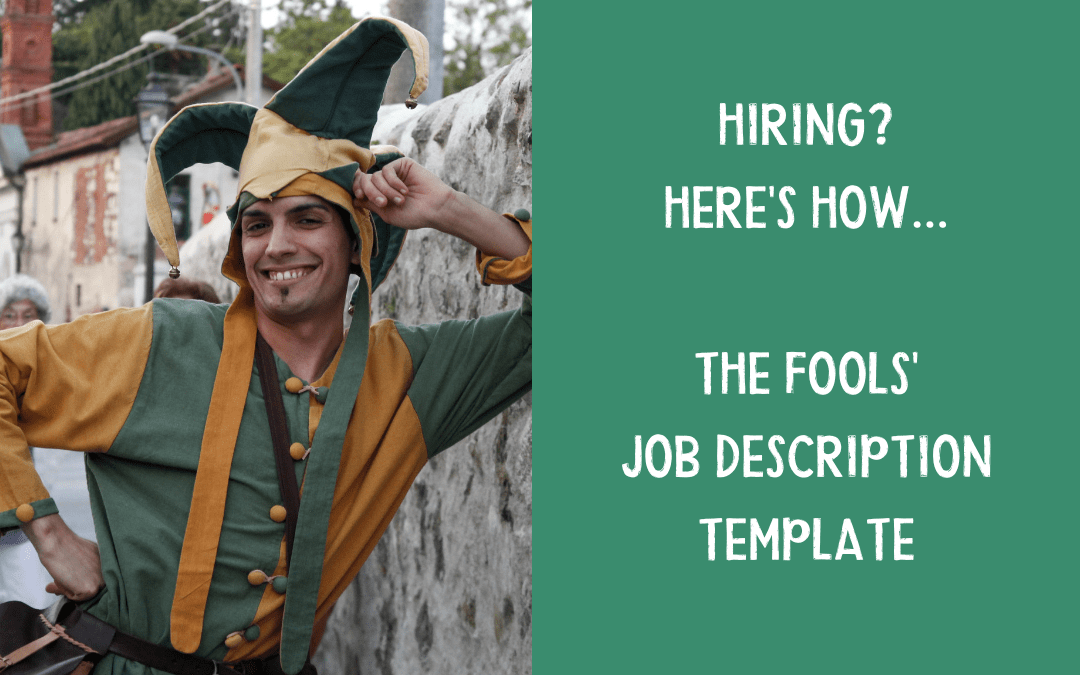 The fool's job description