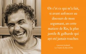 Laurent Joubert - Traité du Ris