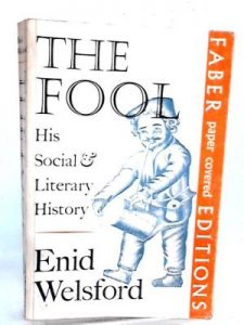 book cover - Welsford - The Fool (Faber) 1