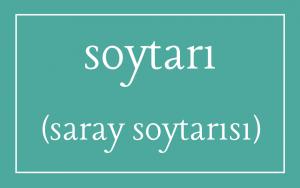 Lexicon - Turkish soytari