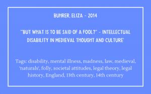 Bibliography - Buhrer Eliza 2014