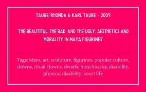 Bibliography - Taube Rhonda & Karl Taube 2009
