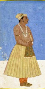 Portrait of Birbal or Raja Birbal by a Mughal painter