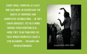 Quotation - Joseph Roth on Jewish jesters