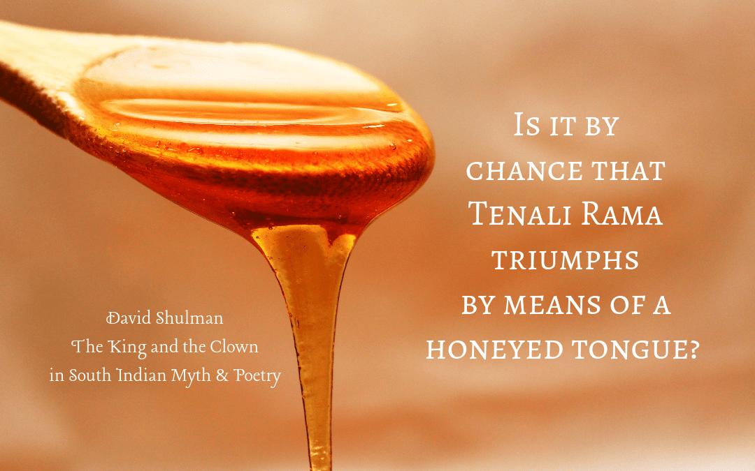 Quotation - David Shulman on Tenali Rama