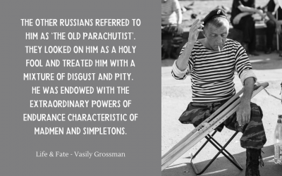 The old parachutist