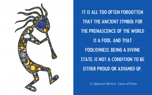 Quotation - Spencer-Brown - Laws of Form