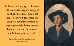 Letter to Thomas Cromwell