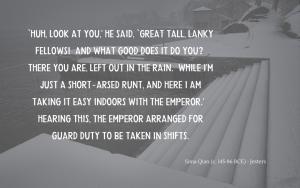 Quotation - Sima Qian on You Zhan