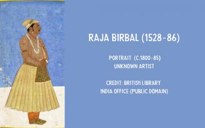 Painting of Birbal