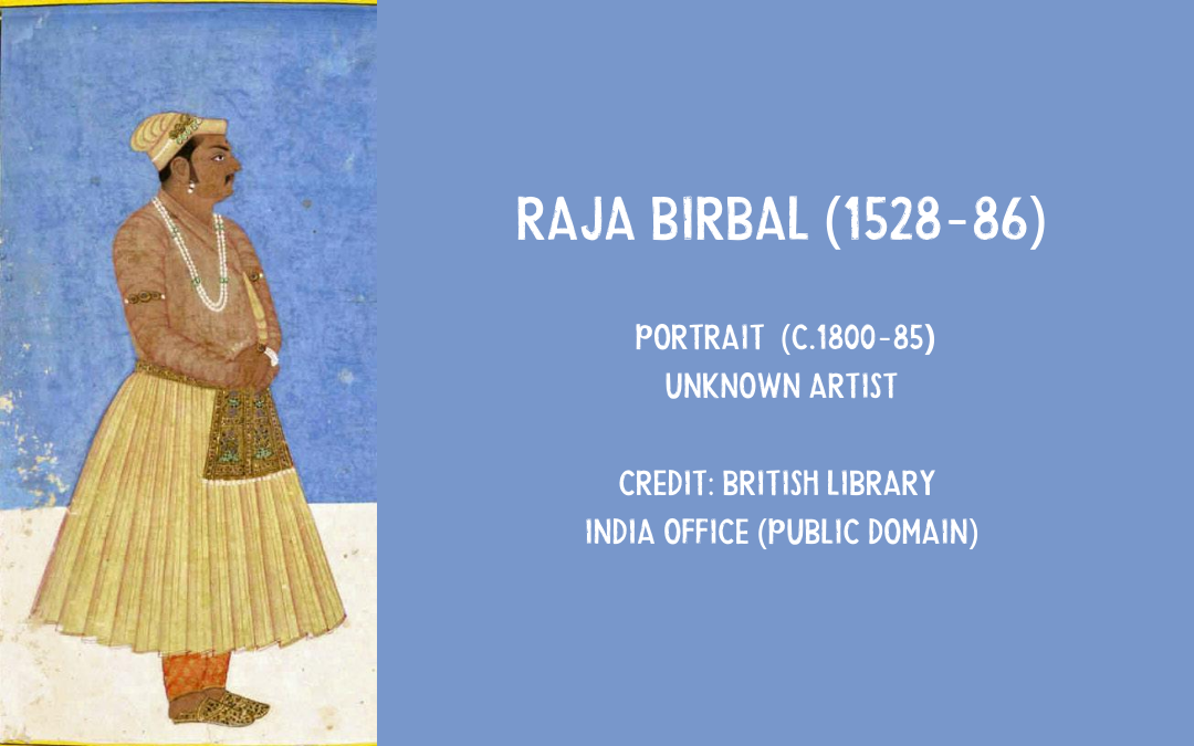 Painting of Raja Birbal jester to Akbar