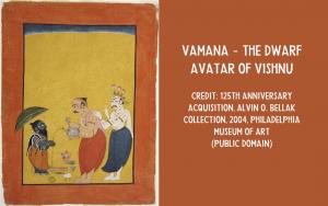 Vamana dwarf Vishnu