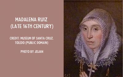Portrait of Madalena Ruiz
