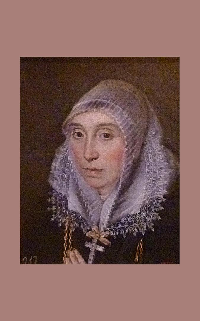 Credit: Anon. (second half of 16th century), Portrait of Magdalena Ruiz 'the Mad', jester to the court of Philip II, Museum of Santa Cruz, Toledo, Spain, public domain; photo courtesy of JoJan