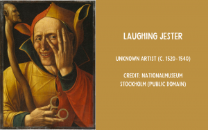 Painting - The Laughing Jester
