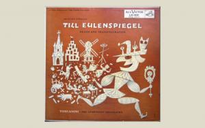 Cover design - LP Strauss Till Eulenspiegel