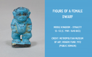 Egyptian figurine of a dwarf