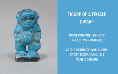 Ceramic Egyptian dwarf