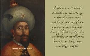 Quotation on Sultan Mehmet III
