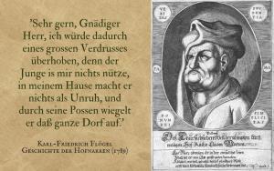 Quotation - Flögel - Geschichte der Hofnarren
