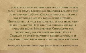 Quotation - Johann Balthasar Schupp
