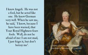 Quotation - Isabel Carlota re Angeli