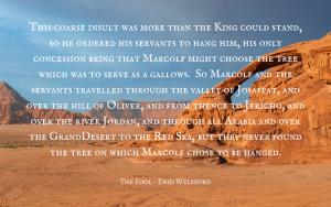 Quotation Marcolf & Solomon - Enid Welsford