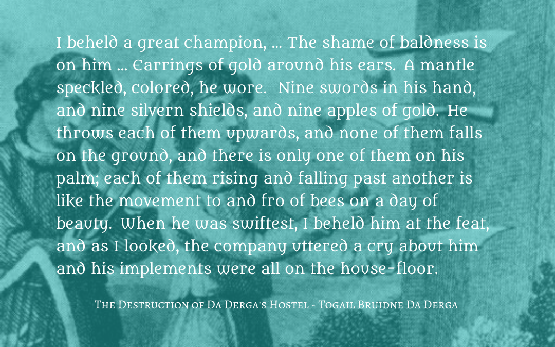 Quotation - The Destruction of Da Derga's Hostel