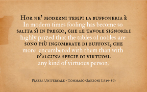 Quotation - Tommaso Garzoni - La piazza universale