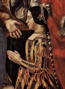 Painting of Beatrice d'Este
