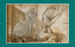 Art - Henry Fuseli - Edgar approaches Lear