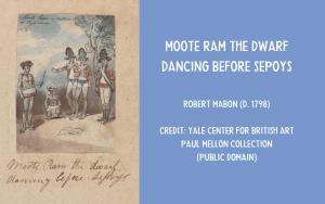 art - Moote Ram the Dwarf Dancing by Robert Mabon