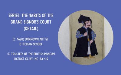 Dwarf at the Turkish court