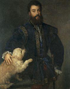 Painting - Titian - Federico II Gonzaga Marquis of Mantua 1525