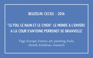 Cecile Beuzelin - Fou, Nain et Chien