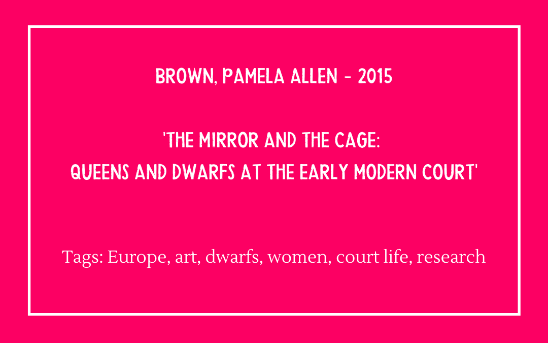 Review of Pamela Allen Brown, 'The Mirror and the Cage'