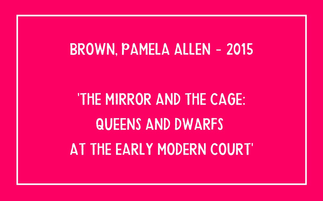 Pamela Allen Brown – The Mirror and the Cage