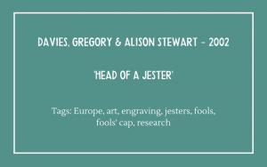 Davies & Stewart - Head of a Jester