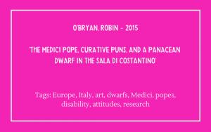 O'Bryan Robin - Medici Pope