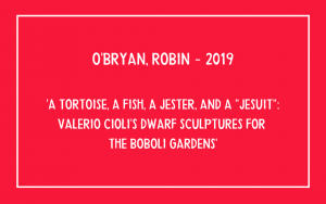 O'Bryan Robin - Tortoise Fish Jester