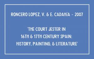 Roncero Lopez - Court Jester