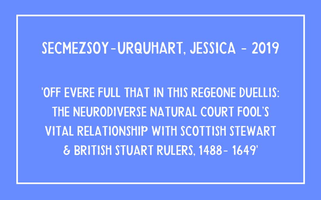 Jessica Secmezsoy-Urquhart – Off Evere Full…