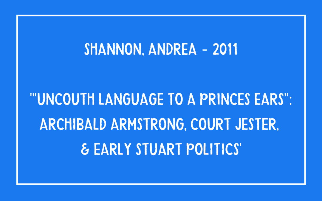 Andrea Shannon - Uncouth language