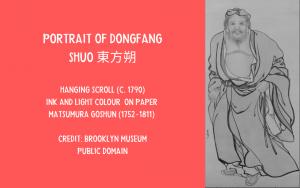 Painting - Dongfang Shuo by Goshun