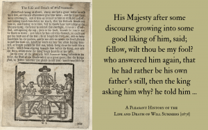 Quotation - Pleasant History of Will Summers