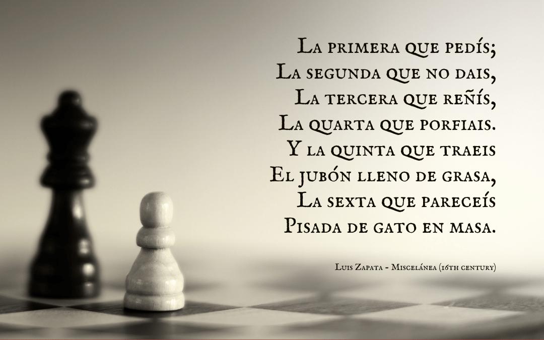 Quotation: Luis Zapata, Miscelánea, regarding the Spanish jester Gabriel