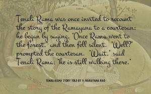 Quotation - Tenali Rama story