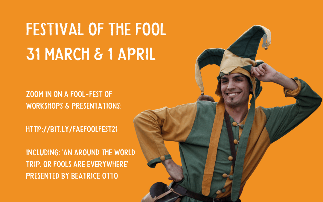 Festival of the Fool – 31 March & 1st April