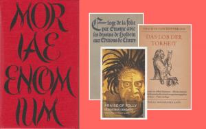 Cover - Erasmus Praise of Folly / Moriae Encomium